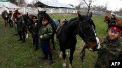 Казаки готовятся патрулировать российско-украинскую границу в районе Ростова-на-Дону. До Антрацита - 100 км