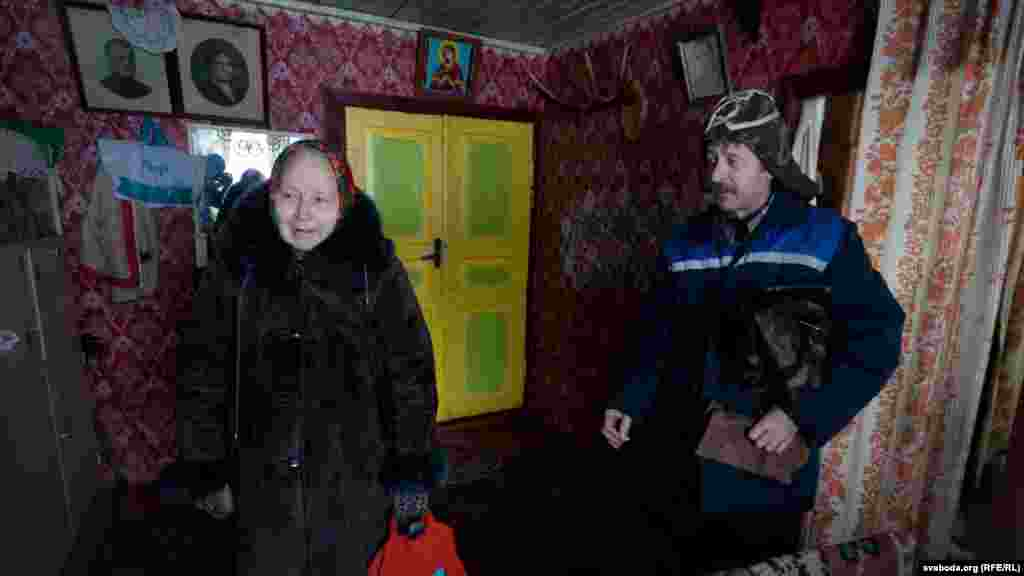 "There are just two full-time winter residents in the village of Leskov: Martha Kolyada and her son, Viktor. It's around 8 kilometers to the nearest store, so they eagerly await Thursday visits from the ""autalauka."""
