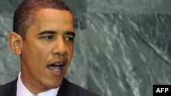 """The time has come for the world to move in a new direction,"" U.S. President Barack Obama told the UN General Assembly."