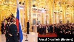 Владимир Путин принимает присягу. Москва, 7 мая 2018 года