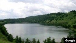 Место обитания предпологаемого грузинского чудовищя