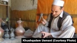 A coppersmith in Badakhshan