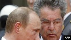 2007 елда Австрия президенты ул чактагы Русия президенты Путин белән очрашты
