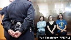 Pussy Riot перед приговором