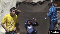 Під час сутичок на площі Тахрір у Каїрі 24 серпня 2014 року