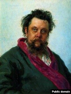 Портрет Модеста Мусоргского работы Ильи Репина