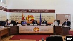 Архива- Седница на Државната изборна комисија (ДИК).