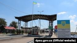 КПВВ «Каланчак» на адміністративному кордоні між Кримом і Херсонською областю, грудень 2020 року