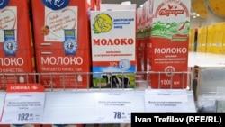 Московские цены на молоко