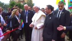 Katolik icması Papanı belə qarşıladı
