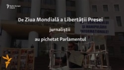 La Chișinău de Ziua Mondială a Libertății Presei