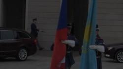 Президент Казахстана в Праге