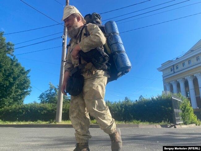 За три года Андрей прошел 30 тысяч км, побывал в 1800 населенных пунктах России