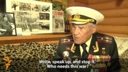 Украінскі вэтэран-франтавік гаворыць пра трагедыю новай вайны