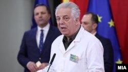Претседателот на Комисијата за заразни болести, д-р Жарко Караџовски