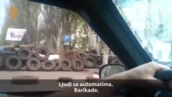 Vožnja kroz barikade Slavjanska