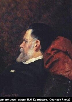 """София Юнкер-Крамская. """"Портрет отца"""". 1887 г."""