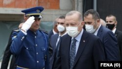 Bosnia and Herzegovina -- Turkish President Recep Tayyip Erdogan visits Sarajevo, August 27, 2021.