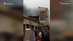 """""""Зачем нас поджигать?"""" В Махачкале требуют расследовать пожар в ТЦ"""