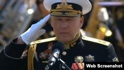 Сергій Єлисєєв, в Україні звинувачений у державній зраді та дезертирстві. У 2014 році перейшов на службу в ВМФ Росії