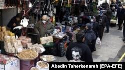 بازار تجریش در تهران؛ عکس آرشیوی