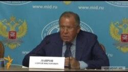 Լավրով. «Մոսկվան պատժամիջոցներից չի վախենում»