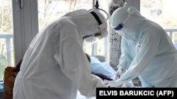 Koronavirus xəstəsinin müalicəsi, Bosniya, 19 mart 2021