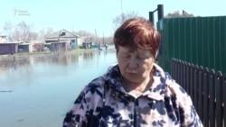 Десятки домов затопило в селе под Петропавловском