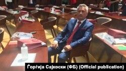Генералниот секретар на ВМРО-ДПМНЕ, Ѓорѓија Сајкоски
