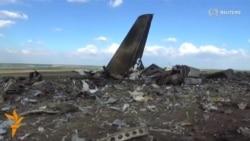 Ukrainian Military Plane Shot Down Near Luhansk
