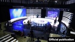 КТРКнын дебат өткөн студиясы.