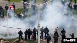 سرکوب اعتراضهای ضد حکومتی در بلاروس