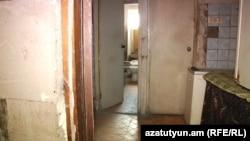 Общежитие, в котором проживают беженцы из Азербайджана