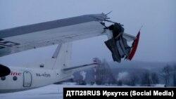 Сломанное крыло Ан-24