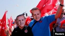 Türkiyə prezidentinin reytinqi 68 faizə çatıb