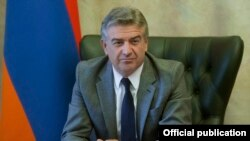 Հայաստանի նախկին վարչապետ Կարեն Կարապետյան, արխիվ