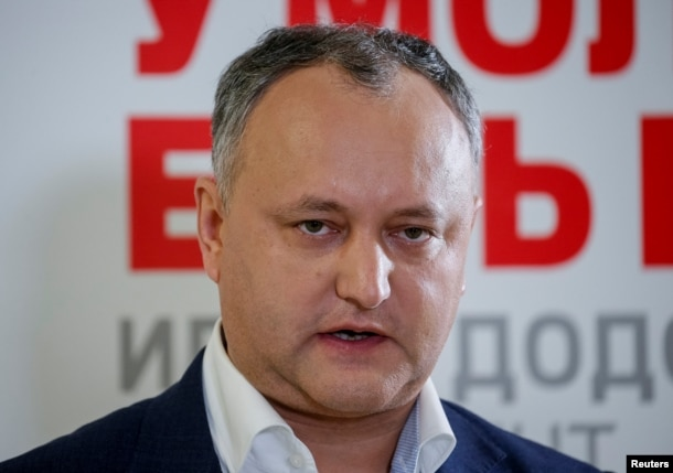 Presidential frontrunner Igor Dodon (file photo)