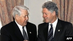 The newly declassified documents seem to confirm that U.S. President Bill Clinton (right) and his Russian counterpart Boris Yeltsin enjoyed a very cordial relationship.