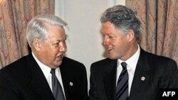 Plutonium razılaşmasını Bill Clinton (sağda) və Boris Yeltsin imzalamışdılar