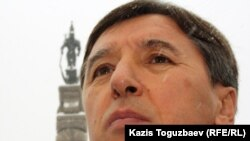 Сопредседатель ОСДП Болат Абилов. 17 января 2012 года.