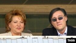 Валентина Матвиенко (слева) и Сергей Матвиенко