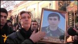 Ադրբեջանում բողոքում են մահացած զինվորների ծնողները