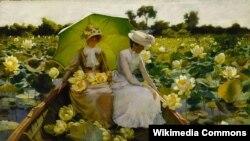 Чарлз Кортні Каран, «Эгіпецкія гарлачыкі» (1888).
