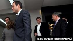 Встреча оппозиции и властей в Тбилиси. 5 октября 2012 года
