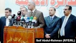 رئيس مجلس محافظة واسط محمود عبد الرضا طلال في مؤتمر صحفي 31/5/2012