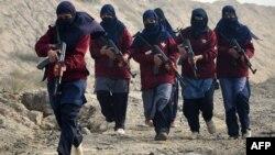 Жени командоси во Пакистан.