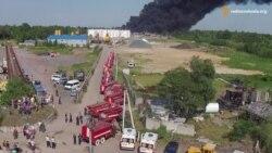 Пожежникам вдалось локалізувати вогонь – Аваков про займання на нафтобазі під Києвом