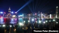 Lanțul uman din Hong Kong, 23 august, 2019