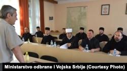 Prijem oficira verske službe