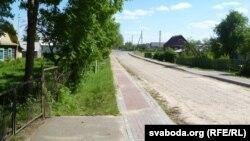 Школьная вуліца, якую маюць пераназваць у імя Рыгора Барадуліна